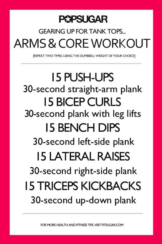 Tank Top Workout