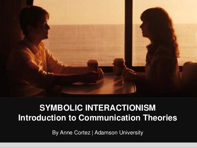 Symbolic Interactionism by George Herbert Mead/ SlideShare.net