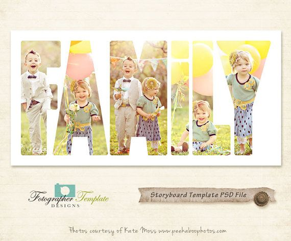 Photography Storyboard Templates Storyboard от SachusDesign