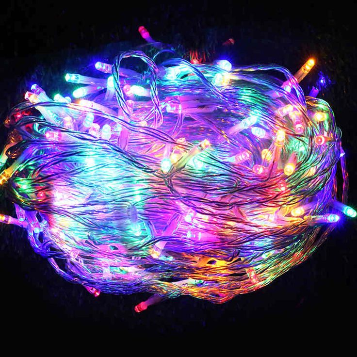 500 LED Christmas String Fairy Lights - Multicolour | Buy Fairy & String Lights