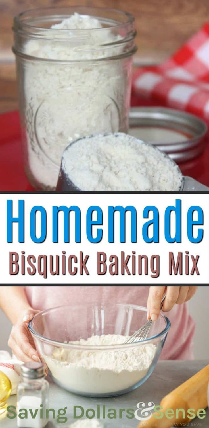 Homemade Bisquick Recipe Make Your Own Baking Mix For Pancakes Biscuits Shortcake Waffles Dumpling Homemade Bisquick Bisquick Mix Recipe Bisquick Recipes