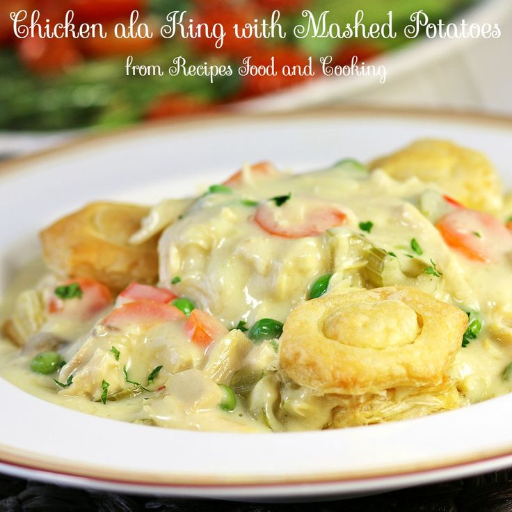 Chicken ala King #SundaySupper - Recipes Food and Cooking