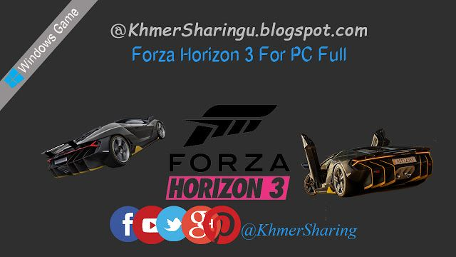Forza Horizon 3 For PC Full   Forza Horizon 3  Youre in charge of the Horizon Festival. Customize everything hire and fire your friends and explore Australia in over 350 of the worlds greatest cars. Make your Horizon the ultimate celebration of cars music and freedom of the open road. How you get there is up to you.  Official Trailer  Forza Horizon 3 Minimum Requirements  CPU: Intel Core i7 3820 @ 3.6GHz  GPU: NVIDIA GeForce GTX 970 or NVIDIA GTX 1060 (AMD R9 290X or AMD RX 480)  VRAM: 4GB…