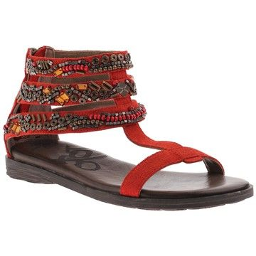 OTBT: Pendelton Beaded Sandal Cinnamon