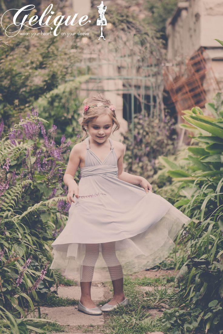 Gelique Convertible flowegirl dress  http://www.geliqueonline.com/