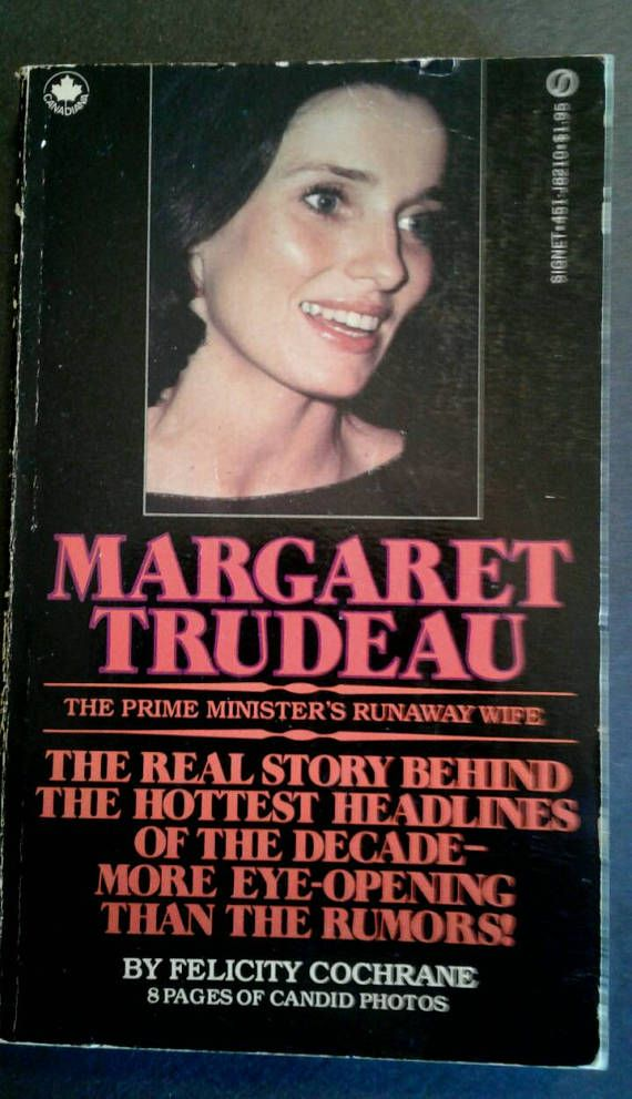 Check out this item in my Etsy shop https://www.etsy.com/ca/listing/526672108/1978-margaret-trudeau-biography-by
