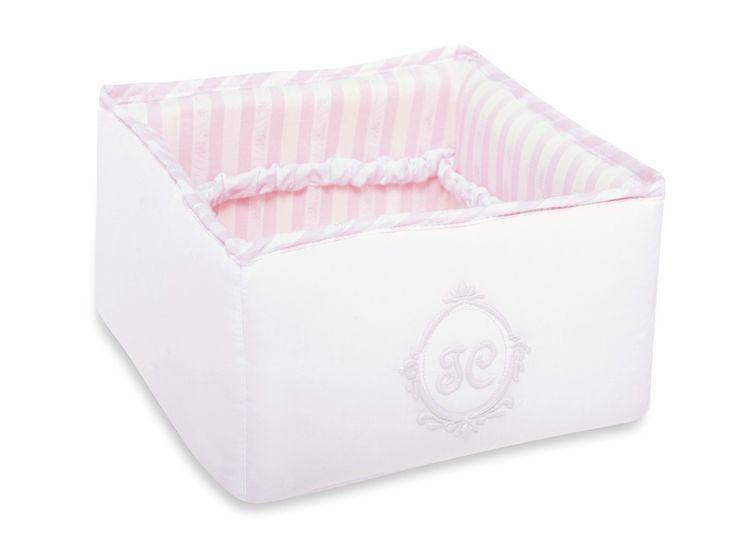 Nursery basket to store toiletries.