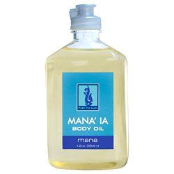 Pure Fiji Mana'ia Body Oil 12 oz. * Want additional info? Click on the image. (This is an Amazon Affiliate link and I receive a commission for the sales)