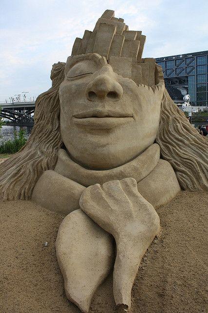 sand art by pepp 2012, via Flickr