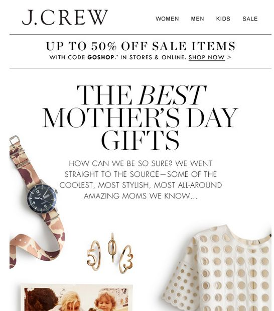 j crew mothers day - Google Search