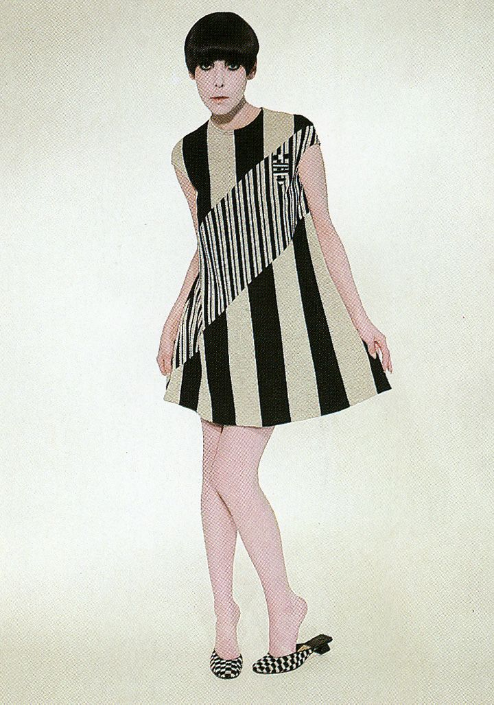 1960s Peggy Moffitt in gernreich