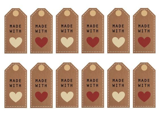 made with love printables: