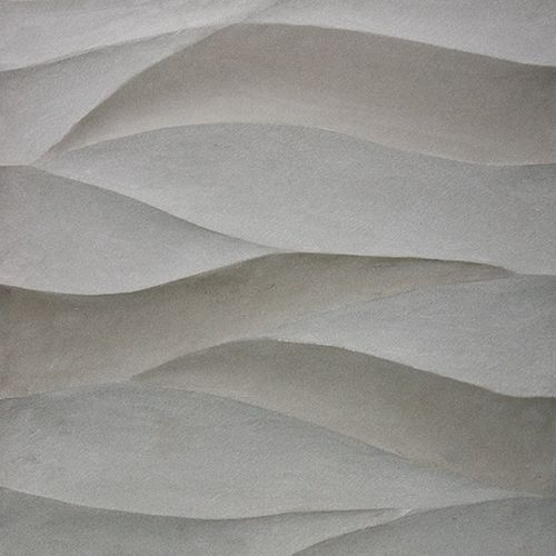 Artistic Tile  Ambra Collection  Ambra in Gris sandstone  Innovative Tiles  Painting tile