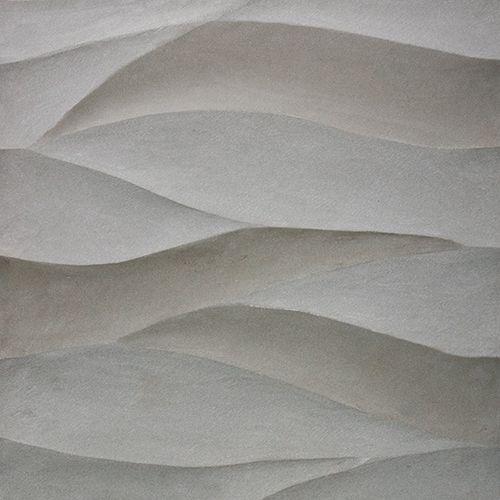 Artistic tile ambra collection ambra in gris sandstone for Dimensional tile backsplash