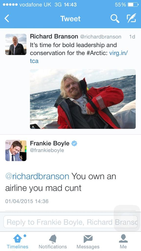 Frankie Boyle at it again...