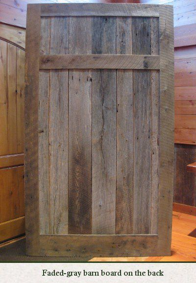 Sliding barn doors reclaimed wood sliding barn doors - Reclaimed wood interior barn doors ...