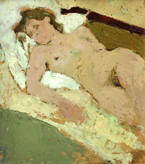 Nu Etendu Edouard Vuillard