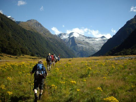 New Zealand's Great Walks - Siberia Valley Mount Aspiring National Park New Zealand  The New Zealand Great Walks are our nine most popular and well-known multi-day hikes – including the Milford Track – each worthy of the title.  Here are a range of New Zealand multi day walking trips ...  #newzealand #multidayhikes