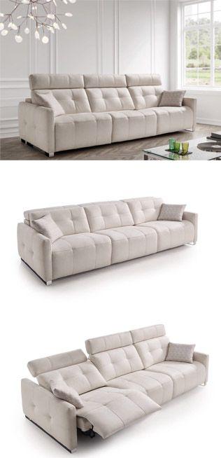 Nuevo modelo de sofá , directo a nuestra exposición , para que puedas verlo al natural. A nosotros nos encantó este modelo de sofá ideal para ponerlo en el medio del salón, porque tiene una trasera verdaderamente bonita.