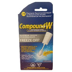 Compound W Freeze Off Wart Remover
