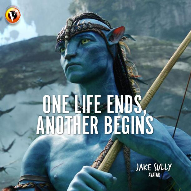 "Jake Sully (Sam Worthington) In Avatar: ""One Life Ends"