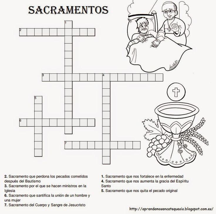 Resultado de imagen para pinterest religion catolica los sacramentos