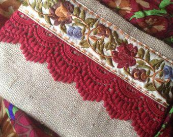 Bolso para mujer de embrague bolso Floral por BOHOCHICBYDAMLA