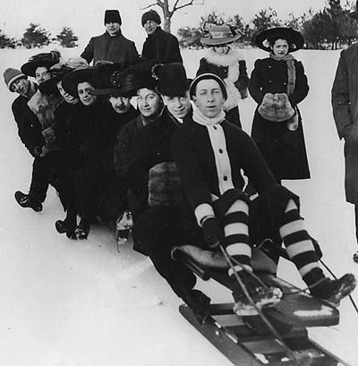 """High Park Toboggan Runs, ca. 1906-1910. City of Toronto Archives, Fonds 1244, Item 438."""" After a month and a half of acrimonious debate, on February 19, 1912, City Council passed a by-law …"""