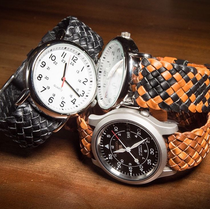 Kangaroo watch bands for your favourite timepiece. This weekend's work!! Grab yours today.
