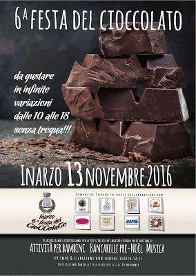 Festa Del Cioccolato 13 Novembre Inarzo (VA)