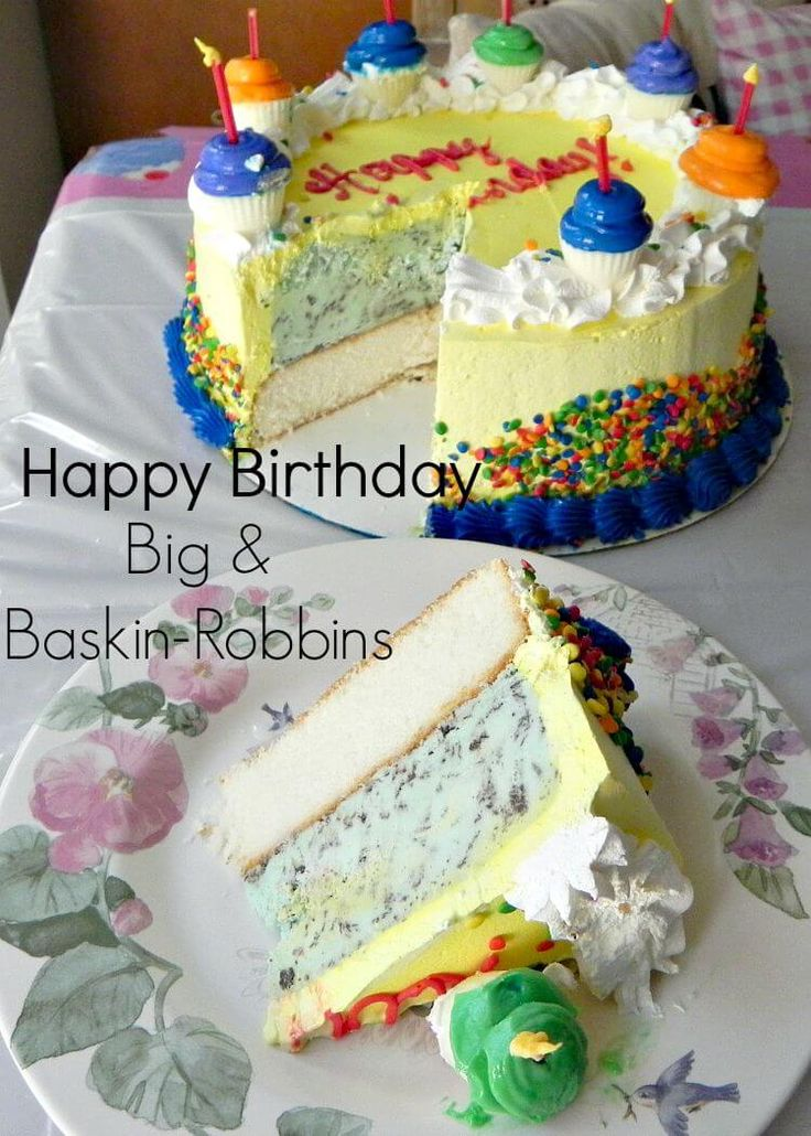 25 best Baskin Robbins Cakes images on Pinterest Baskin robbins