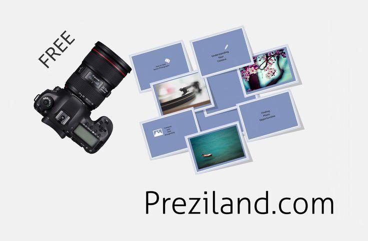 Free prezi template – photographs