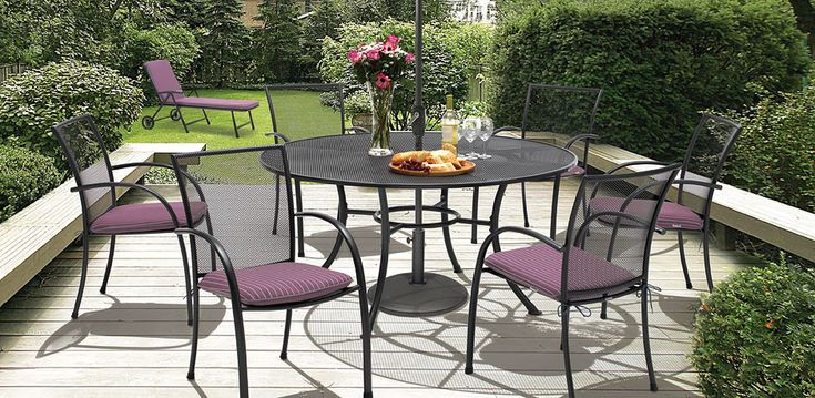 25 best ideas about aluminium garden furniture on for Low maintenance outdoor furniture