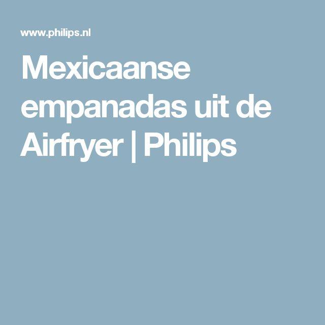 Mexicaanse empanadas uit de Airfryer | Philips