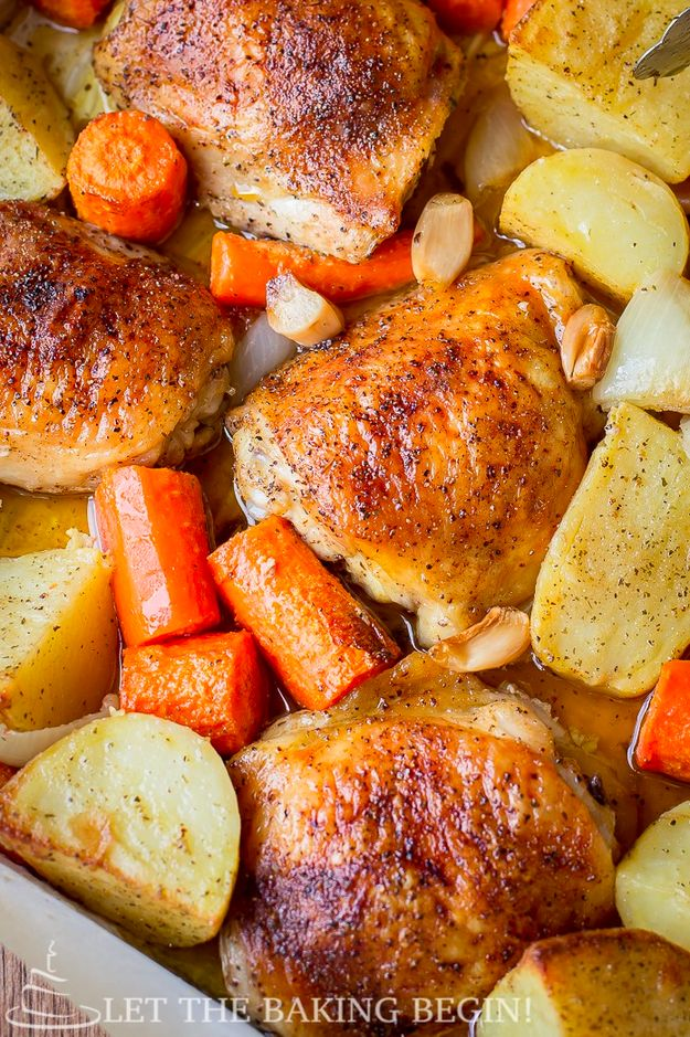One-Pan Chicken and Potatoes | 21 Fresh Ideas For Chicken Dinners