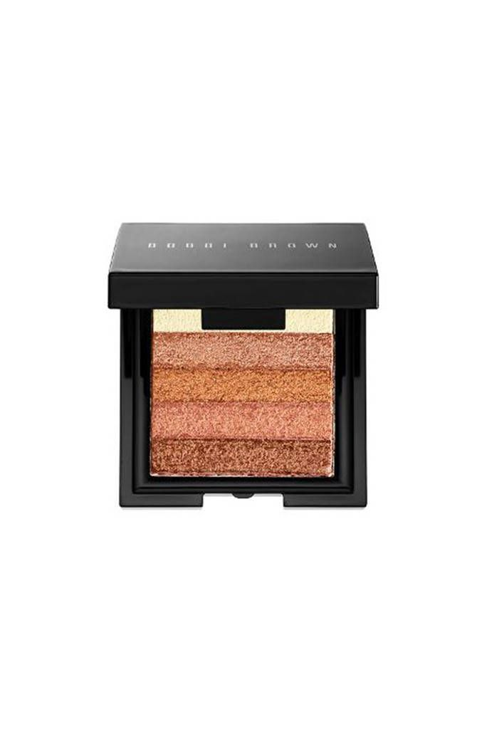 Bronzer from Kate Middleton's Favorite Things  Kate is reportedly a big fan of beauty brand Bobbi Brown. Instead of getting her typical St. Tropez spray tans while pregnant, she opted for this bronzer brick to get a glow. Bobbi Brown Shimmer Brick Highlighter, $25