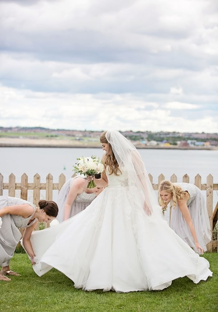 A British seaside wedding like no other! Be inspired by Rachel and Matthew's coastal wedding venue and theme. Packed with nautical charm, beautiful decor details and the prettiest of photo ideas - you'll love it!