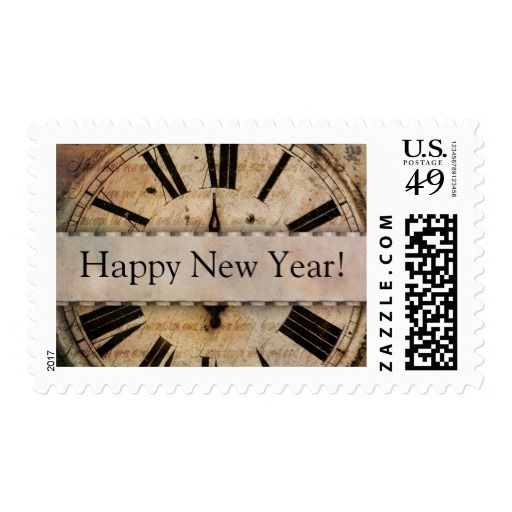 New Years Eve - Happy new Year Postage