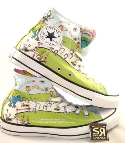 Converse DR. SEUSS Cat in the Hat Oh the Places You'll Go Shoes [1c18086] - $49.99 : Buy Converse, discount converse online