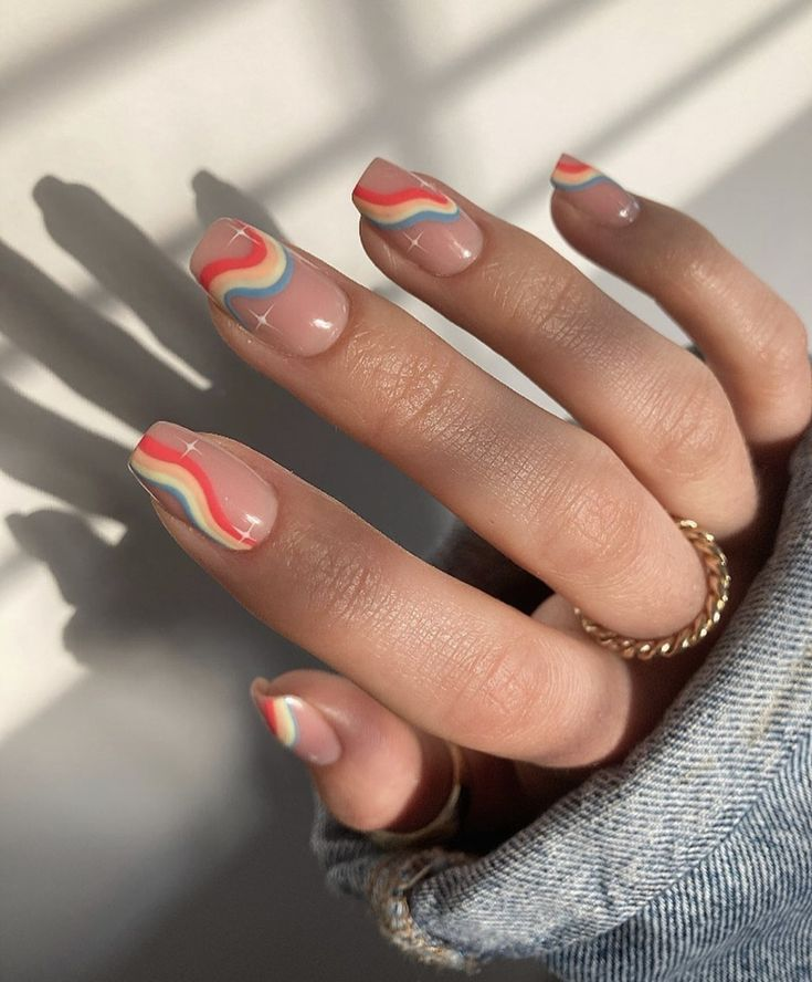 Classy Acrylic Nails, Summer Acrylic Nails, Best Acrylic Nails, Fancy Nail Art, Trendy Nail Art, Stylish Nails, Kylie Nails, Square Nail Designs, Happy Nails