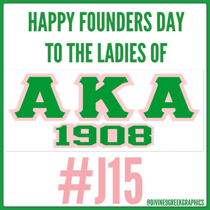 IT'#J15!!! HAPPY FOUNDERS DAY TO THE LADIES OF ALPHA KAPPA ALPHA SORORITY, INC!!! #1908 #skeewee