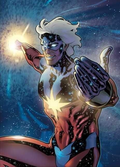 """Captain Marvel A captain in the Kree militia, Mar-Vell rebelled against a racist tyrannical empire to defend Earth and in so doing became the """"Protector of the Universe"""" known as Captain Marvel. Since his tragic death to cancer, Captain Marvel has inspired many superheroes and heroines and his legacy is still felt throughout the Marvel universe."""