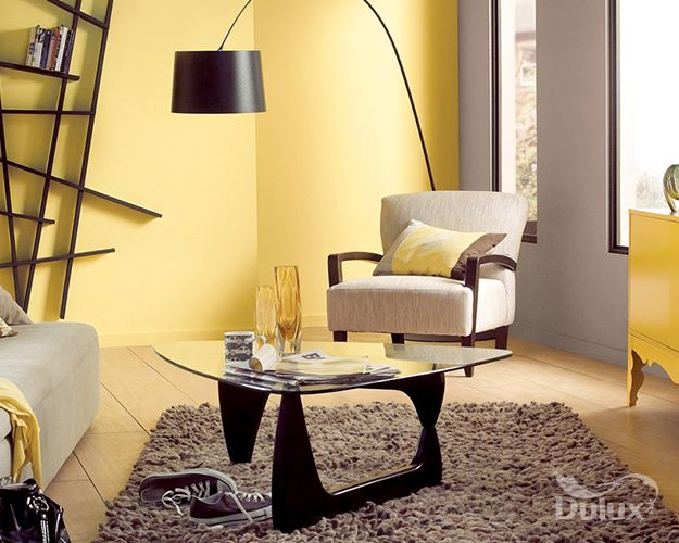 Combine Statement Shades Of Yellow With Delicate Neutrals