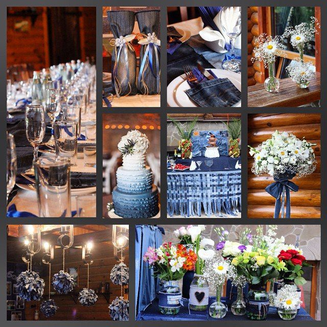 100 best denim wedding images on pinterest wedding decor denim wedding decoration details junglespirit Gallery