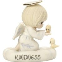 """The Kindness You Show Means More Than You Know"", Bisque Porcelain Figurine, #169040"
