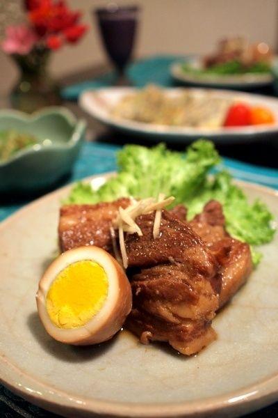沖縄料理ラフテー&もずくヒラヤーチー by shoko♪さん   レシピブログ ...