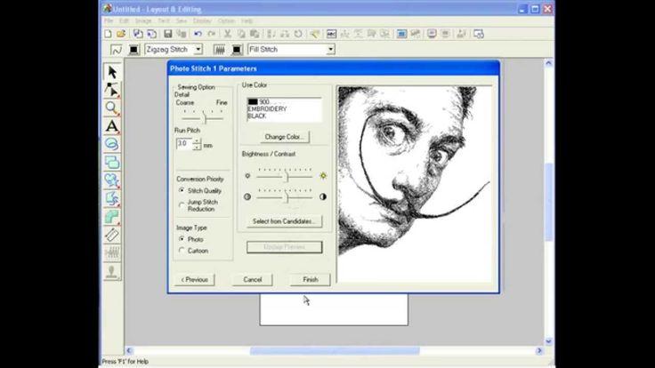 PE-Design. PhotoStitch 1. Gray.