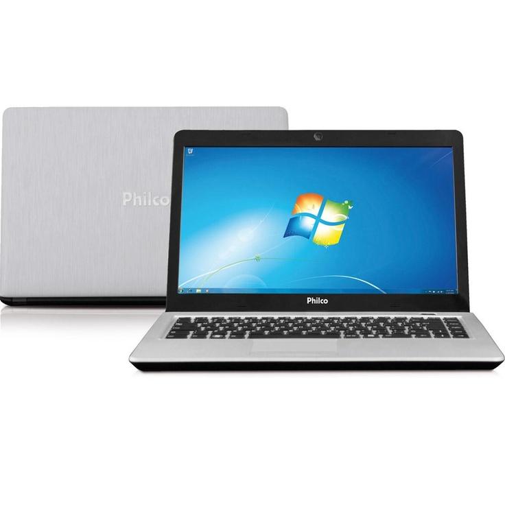 "Notebook Ultrafino Philco 14G-S123WS com Intel Atom 2GB 320GB LED 14"" Prata Windows 7 Starter - http://batecabeca.com.br/notebook-ultrafino-philco-14g-s123ws-com-intel-atom-2gb-320gb-led-14-prata-windows-7-startershoptime.html"