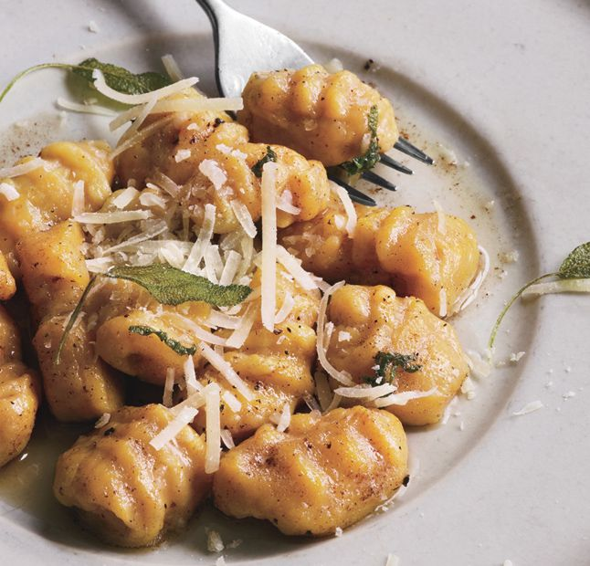 butternut-squash gnocchi with sage brown-butter