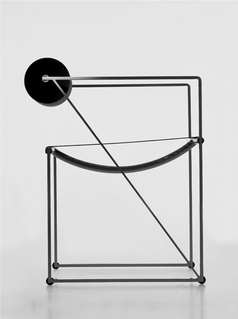 'Seconda Chaire' by Mario Botta for Alias.